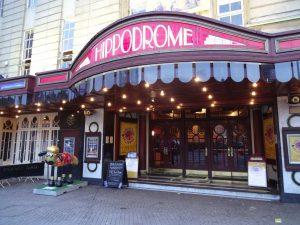 Bristol Hippodrome Theatre Entrance