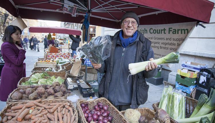 Happy Market Traders St Nichols Market
