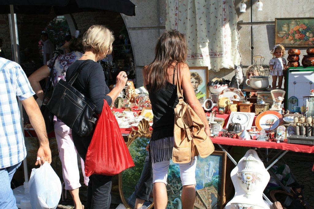 Shopping Bristol Flea Market
