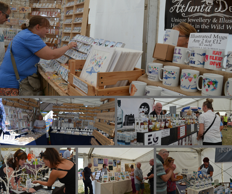 Craft Stalls South Gloucestershire Show Bristol