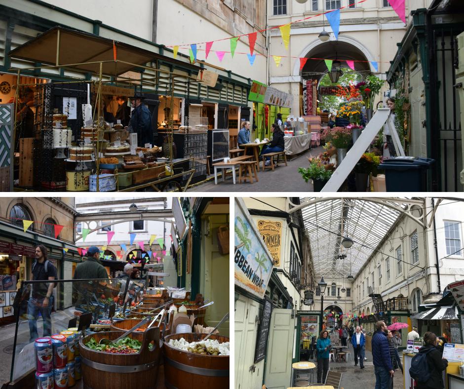 Food Court St Nicholas Indoor Market Bristol