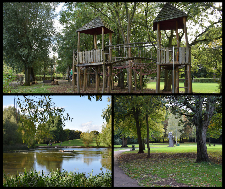 Play area Kingsgate Park Yate Bristol