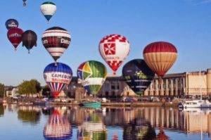 Balloon Fiesta Bristol at Bristol Harbour