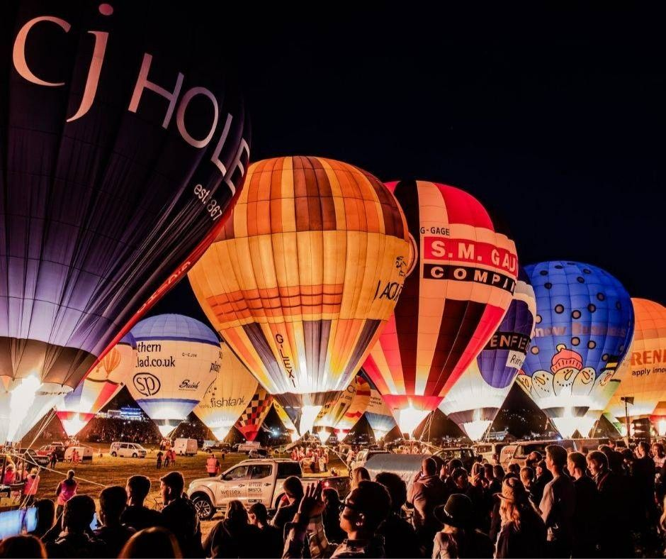 Nightglow Bristol Balloon Fiesta