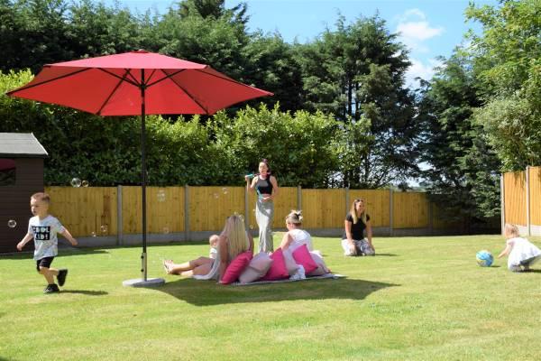 Bury Hill Farm Sunny Garden