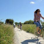 Cycling along Bristol Cycleway